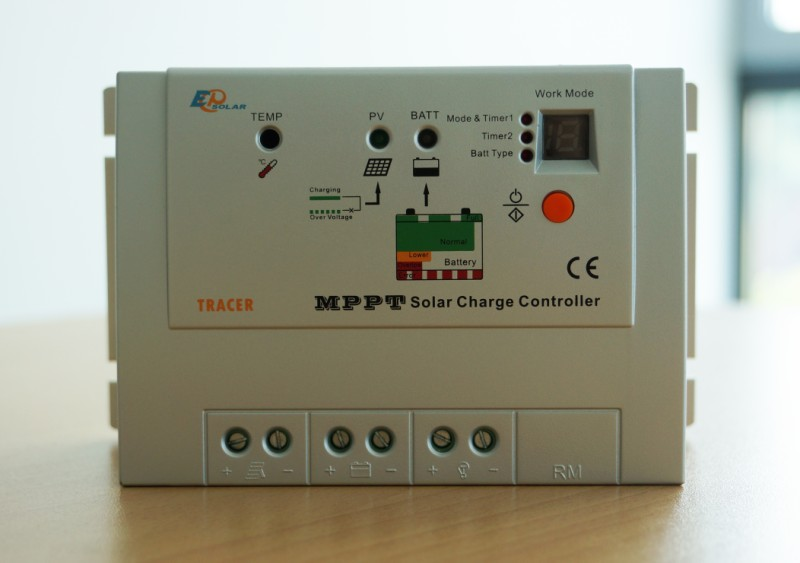 Serie Tracer - Regolatori di carica EPSOLAR - Test Energia
