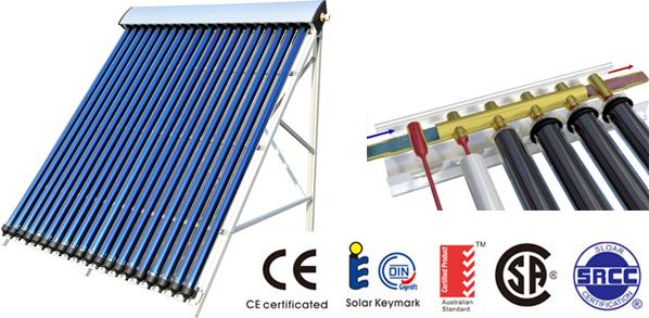 Pannello Solare Termico A Circolazione Forzata : Pannelli solari termici a circolazione forzata test